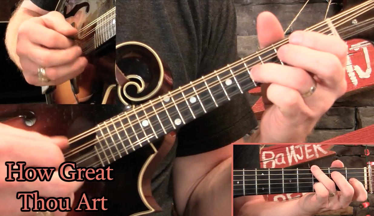Lesson Preview How Great Thou Art Mandolin Banjo Ben Clark