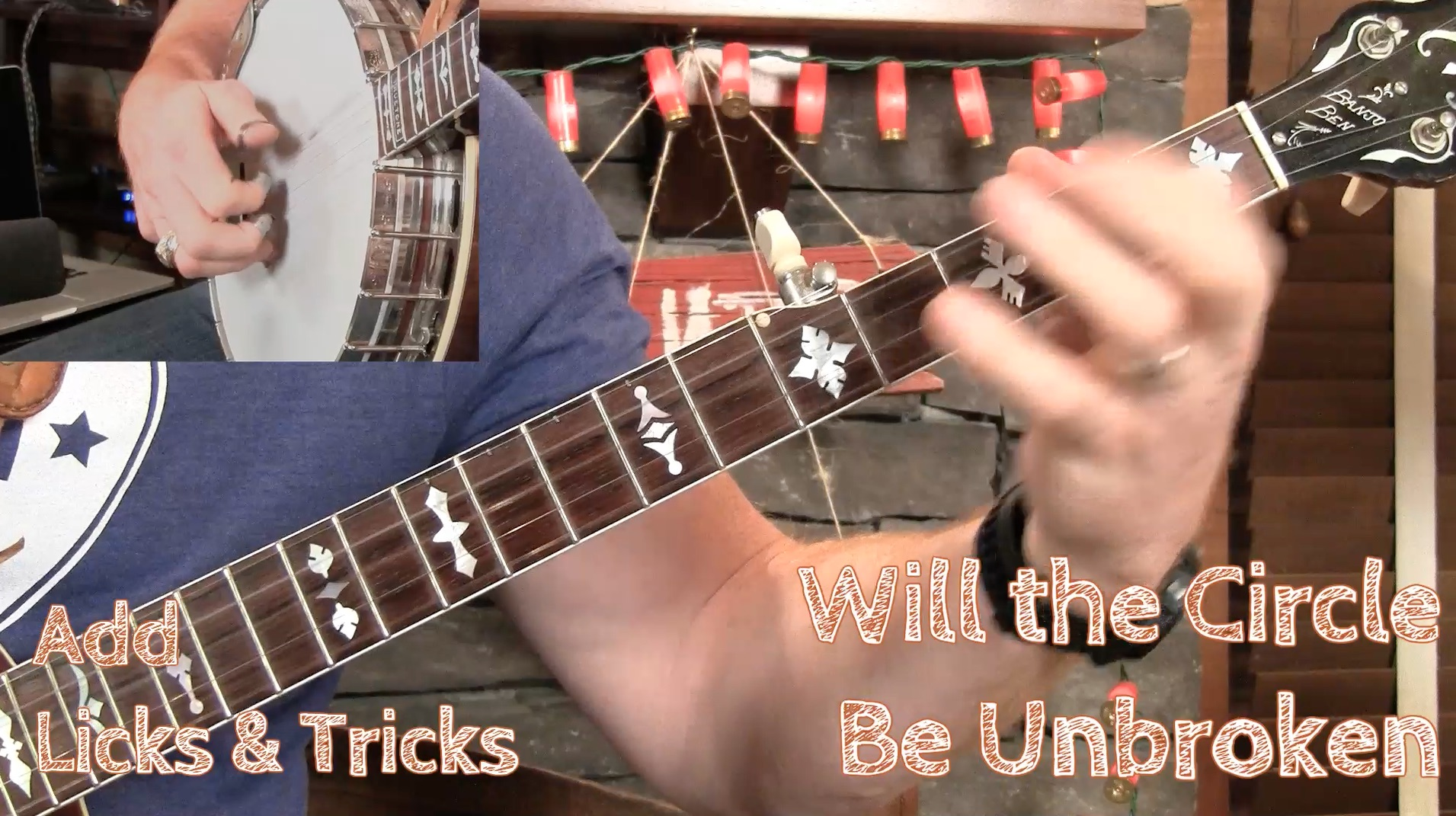 Lesson Preview Will The Circle Be Unbroken Build A Break Banjo