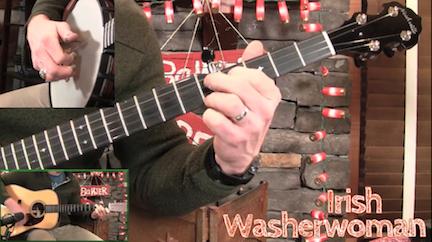 Lesson Preview - Irish Washerwoman - Banjo ☆ Banjo Ben Clark ☆