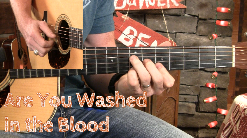 Lesson Preview - Are You Washed in the Blood Fingerstyle - Guitar ...