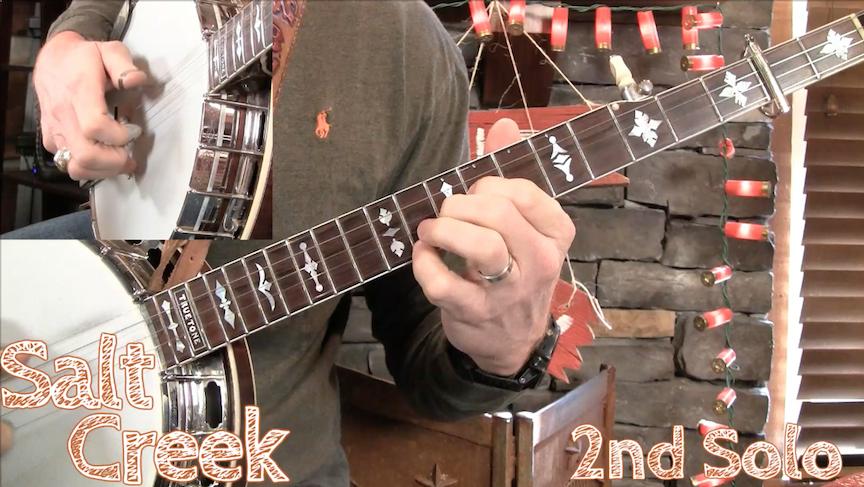Lesson Preview - Salt Creek- Intermediate Revisited - Banjo
